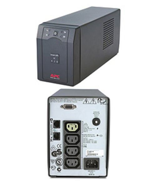 Smart UPS SC 420 VA, line-interaktiv, serielle SS, inkl. SW