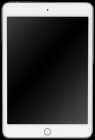 Apple iPad mini Wi-Fi + Cell 256GB silber MUXD2FD/A