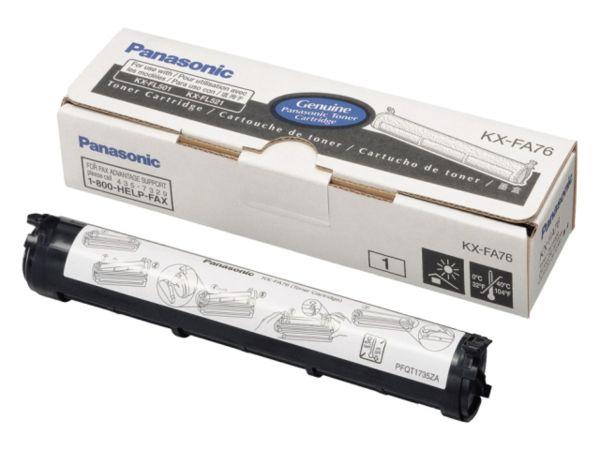 Panasonic KX-FA76X Toner Schwarz (ca. 2.000 Seiten)