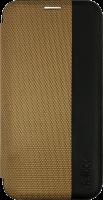 felixx Book Case LYON gold mit Innenfach für iPhone 9