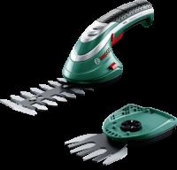 Bosch ISIO 3 Akku-Grasschere mit 2 Messern