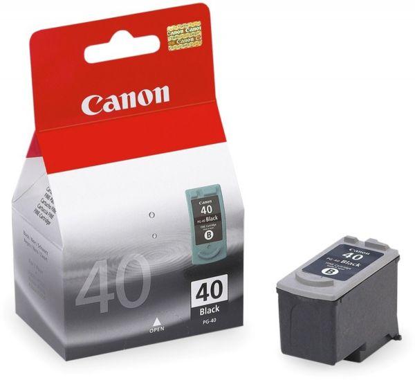 Canon Tintenpatrone PG-40 schwarz (ca. 490 Seiten)