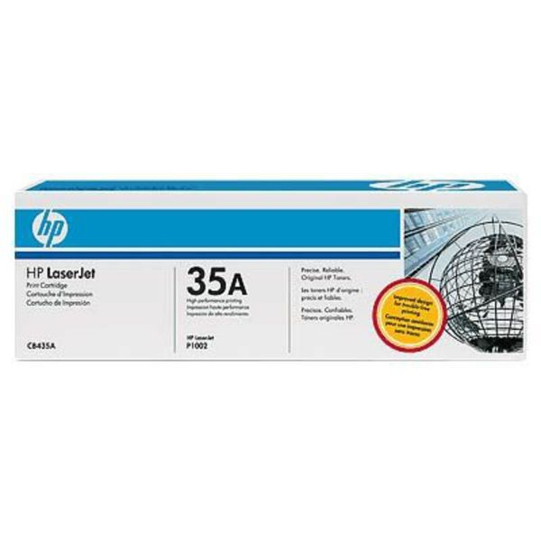 HP Toner inkl. Trommel CB435A Schwarz (ca. 1500 Seiten)